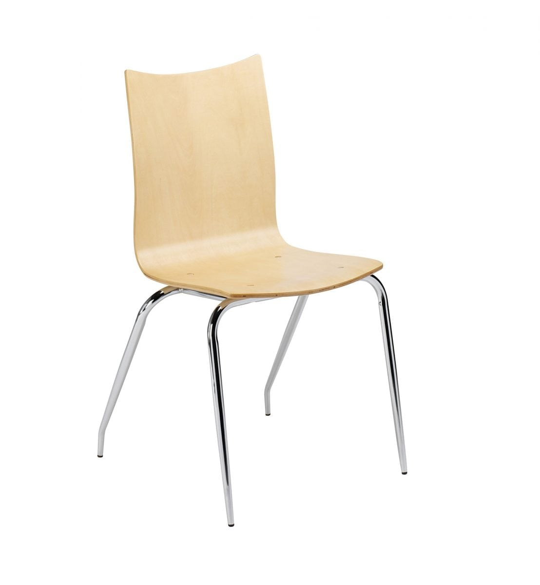 At4 Modern Wooden Stackable Chair For Cafes Bars And