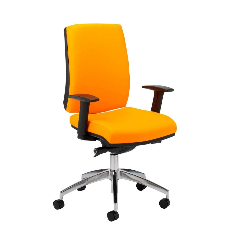 Score  Task Chair Band 1 Fabric - Adjustable Arms