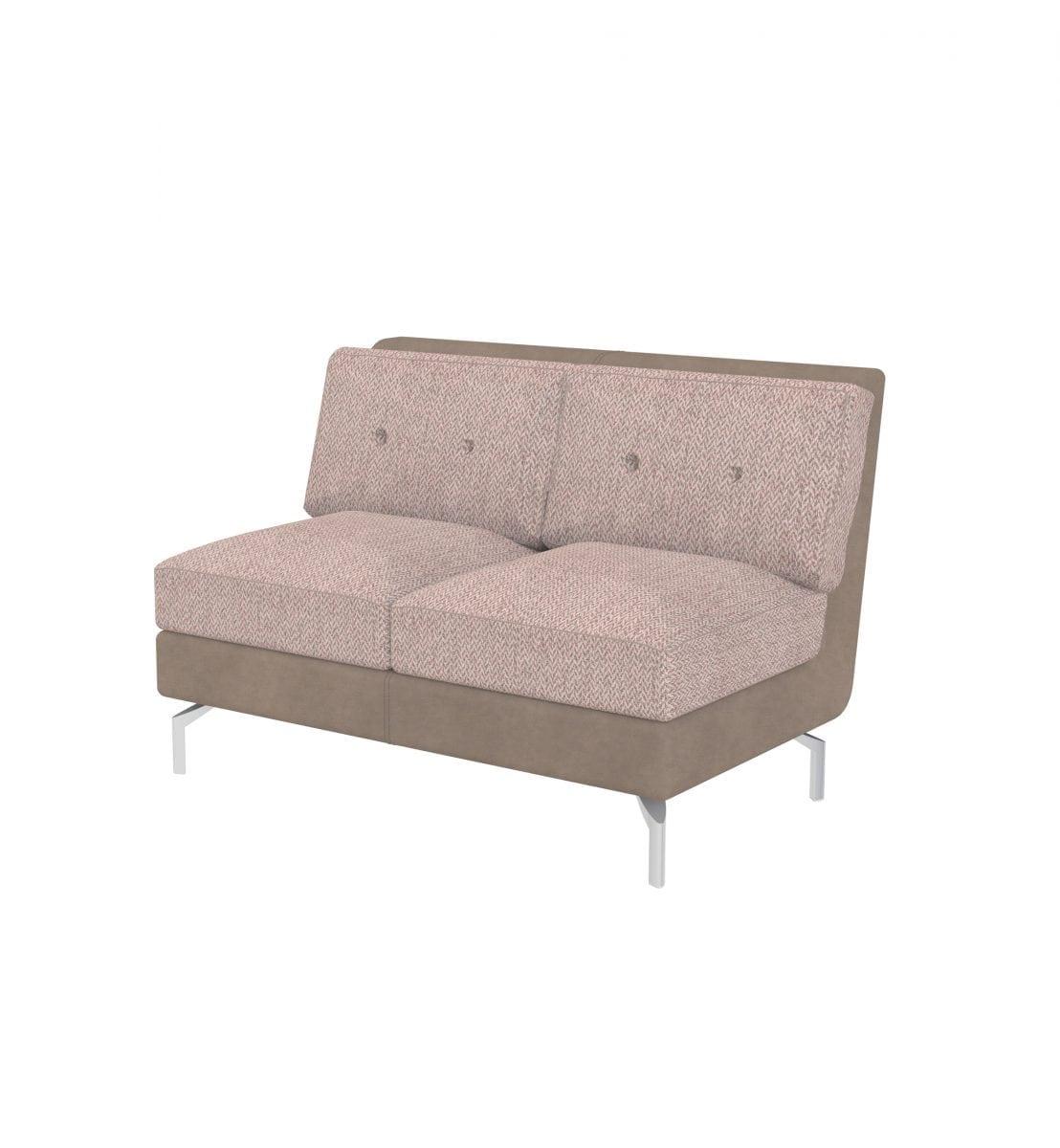 Marvelous De2 Deco Two Seater Tuxedo Style Modular Sofa Summit Chairs Customarchery Wood Chair Design Ideas Customarcherynet
