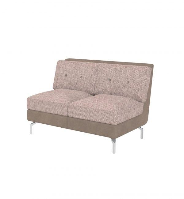 DE2 – Deco range - Two seater tuxedo style modular sofa – from Summit Chairs