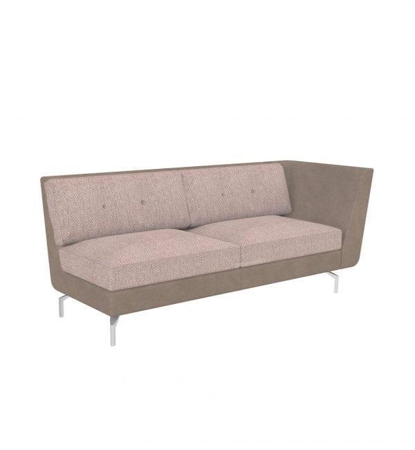 DE3AL – Deco range – Three-seater tuxedo style modular sofa with left arm– from Summit Chairs