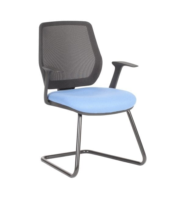 Ovair - OV50A - Meeting room and visitor chairs with cantilever base with arms – from Summit chairs