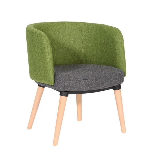Ego - Soft seating visitor reception chair Summit