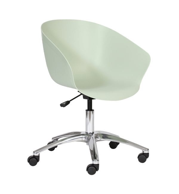 SO50 – Scoot range - multipurpose plastic armchair with castors – from Summit Chairs