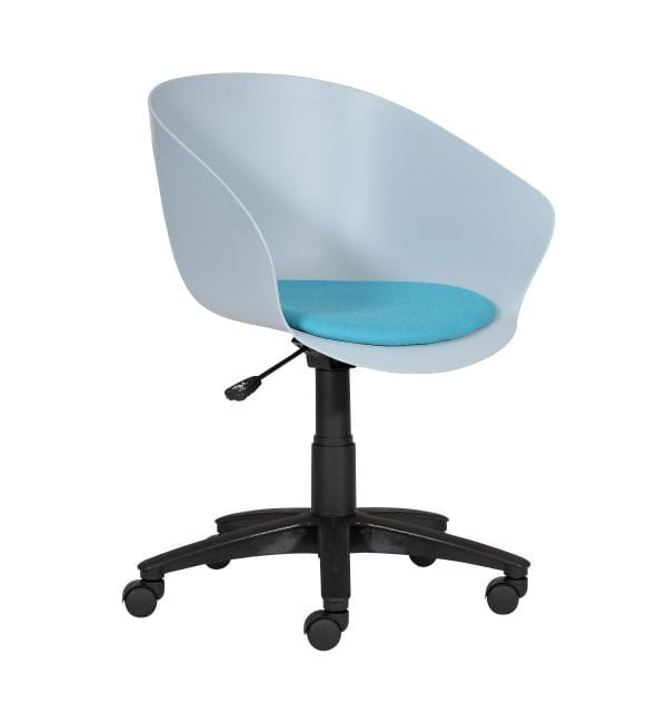 SO60 – Scoot range - multipurpose plastic armchair with castors – from Summit Chairs