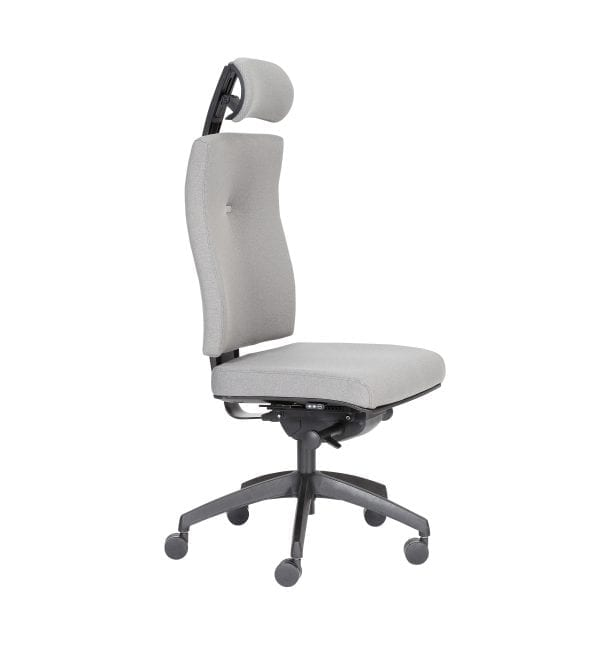 IM32 - Impact - Impact task office chair boasting inflatable lumbar support and Operator Synchro mechanism and adjustable headrest