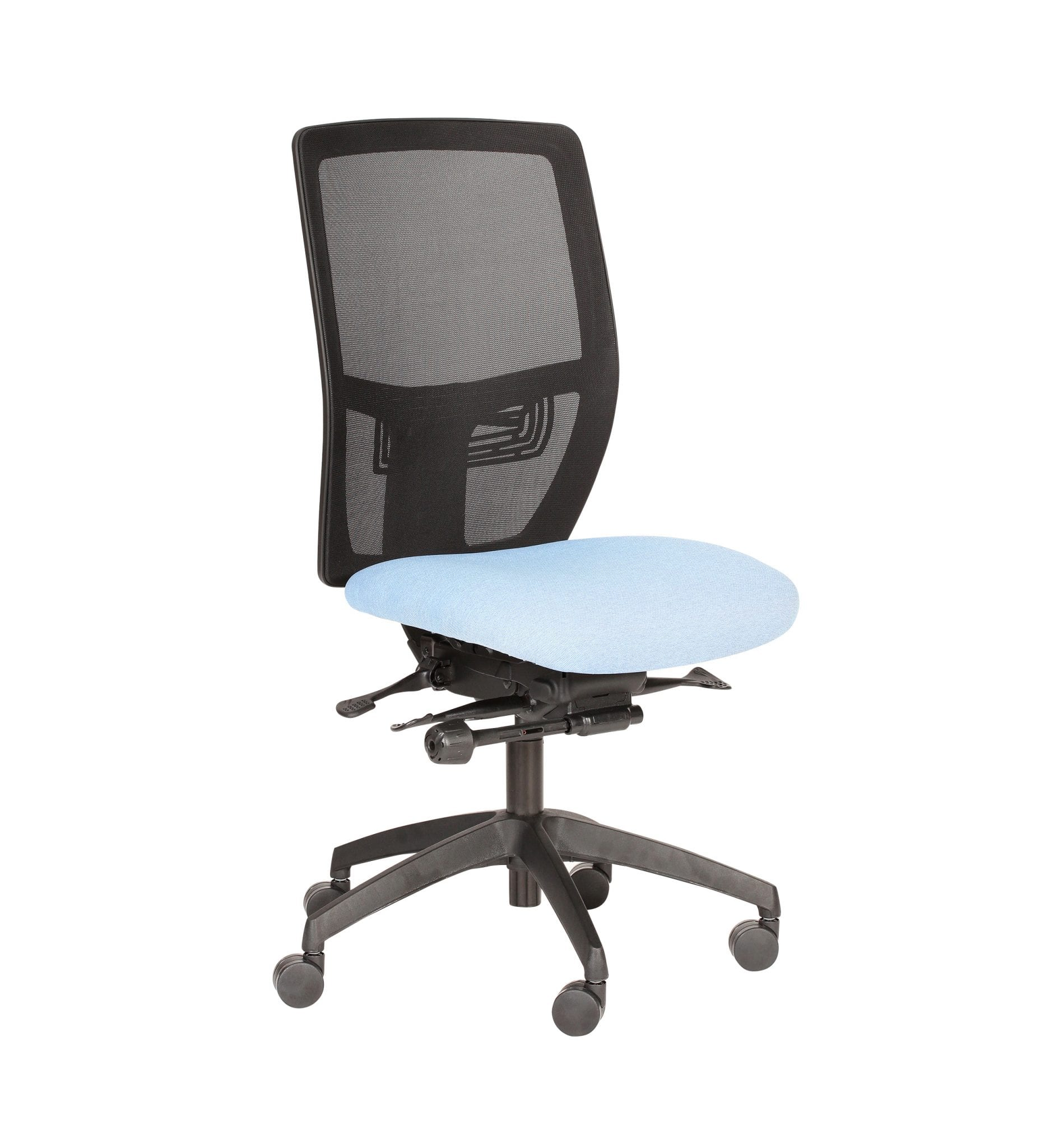PMB73 – Posturemax COOL - Office chair with easy adjustment for everyday use. Ideal for office and call centre use – from Summit Chairs