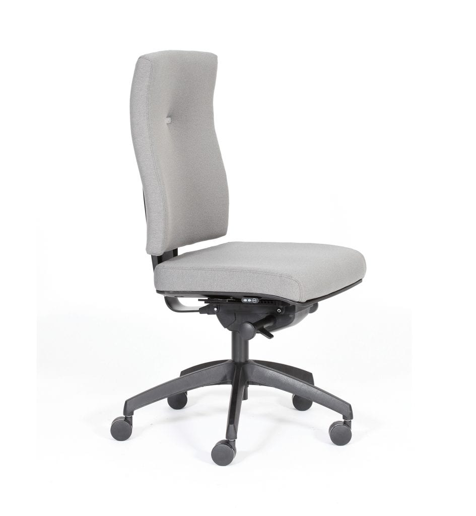 IM21 - Impact - task office chair boasting inflatable lumbar support and Operator Plus mechanism – from Summit Chairs