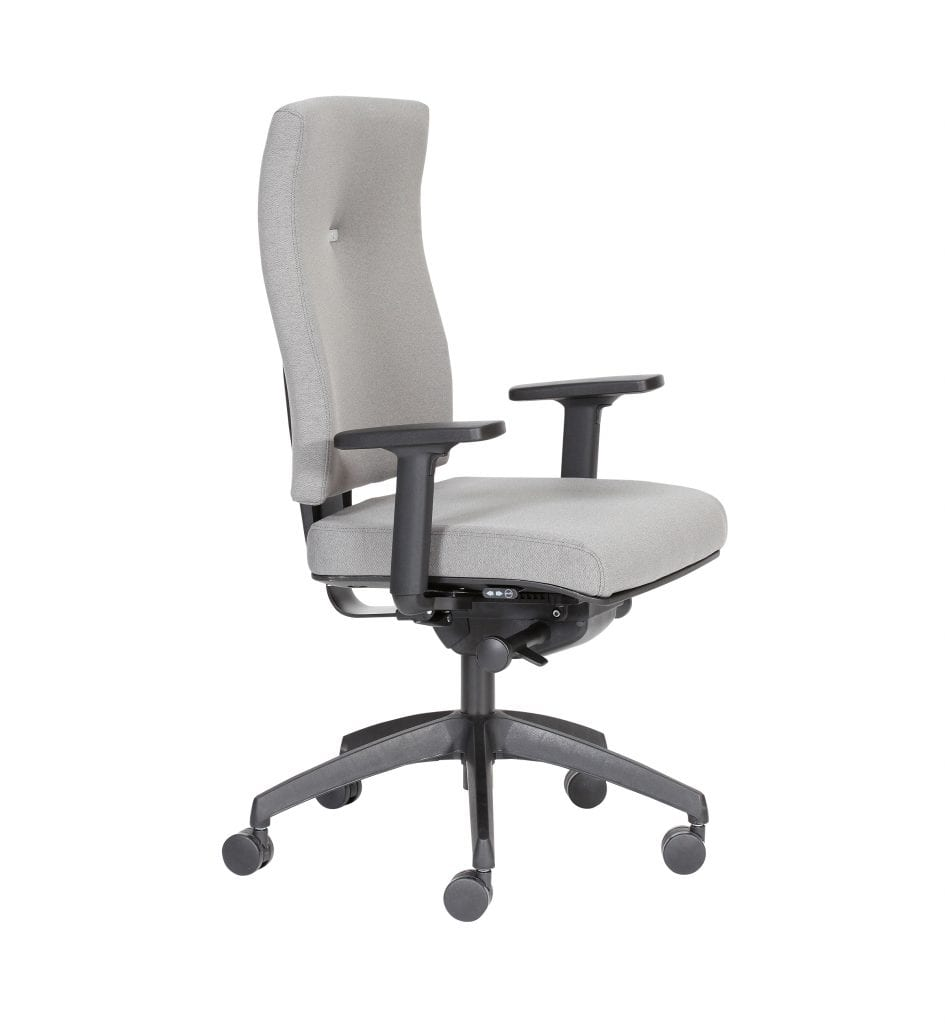 IM21ADJ - Impact – Impact task office chair with lumbar support and Operator Plus mechanism and multi-adjustable arms